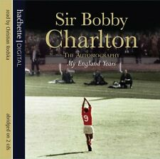 My England Years by Sir Bobby Charlton (CD-Audio, 2008) NEW + FREE P&P