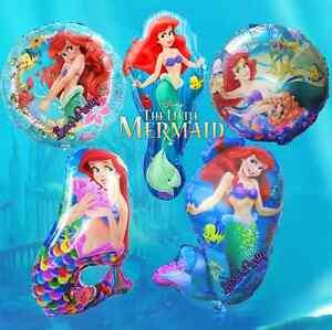 The Little Mermaid Birthday Ariel Balloons Birthday Party Princess SEA favor