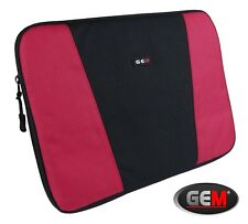 GEM Laptop Sleeve for Lenovo  THINKPAD X1 CARBON,  X1 CARBON 5TH GEN  - Red