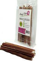 "Junior 6"" inch Bully Sticks Dog Chew  All Natural Dog Treat (15 pack)"