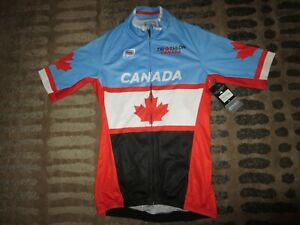 Triathlon Canada Project Cycling Jersey Adult X-Small XS NEW