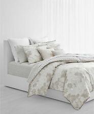 """Ralph Lauren Allaire Stripe 18"""" Square Decorative Pillow Classic Cream $135 New"""