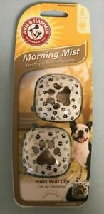 Arm and Hammer Morning Mist Paws Vent Clip. New in package