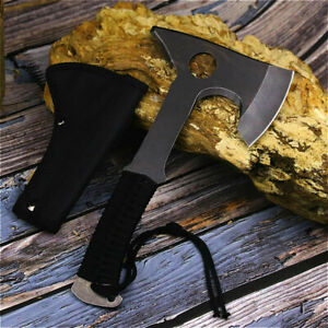 Portable Jungle Axe Outdoor Tactical hunting camping knife outdoor cooking tools