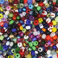 Czech Glass Seed Bead Color Mix One Ounce (1oz) pack Bead Size: 6/0 ( E bead)