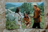 Postkarte AK UNTER GEIERN 1964 Winnetou Pierre Brice S. Granger Karl May Western