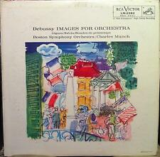 Charles Munch - Debussy Images For Orchestra LP VG+ LM 2282 Vinyl 1959 Record