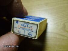44 pc Schmetz sewing machine needles system 88x5 cf Nm 100 size 16