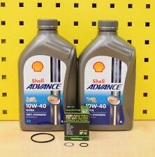 Kreidler Supermoto 125 DD DT Öl + Ölfilter+ Dichtungen Shell Advance Ultra 10w40