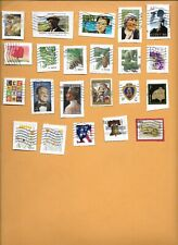 2008-2010 USED STAMPS ON PAPER