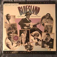 Bluesland A Portrait in American Music LaserDisc SEALED! Blues jazz deluxe gate