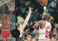 CHICAGO BULLS MICHAEL JORDAN 1994 UPPER DECK RARE AIR #77 DECADE OF DOMINANCE