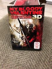My Bloody Valentine (DVD, 2009, 2D  3D Versions) W Slipcover + 3D Glasses!