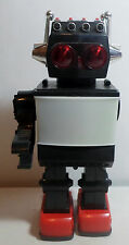 KAMCO VTG 80's SATURN TV SCREEN 12'' ROBOT B/O NEEDS REPAIR MISSES ARM