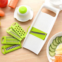 EE_ 7PCS/SET MULTIFUNCTIONAL KITCHEN VEGETABLE POTATO CUTTER SHRED SLICER GRATER