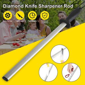600# Professional Knife Sharpener Kitchen Steel Rod Grit Diamond Sharpening Tool