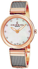 Charriol Women's Forever Diamond Dial Stainless Steel Quartz Watch FE32102005