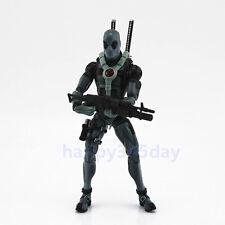 """RARE Marvel Legends 6"""" X-Men Deadpool Gray Suit Action Figure Loose"""