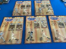 (5)1989 KENNER BASEBALL GREATS!! RUTH, GEHRIG, MANTLE, CLEMENTE,GIBSON,MUSIAL