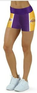 Los Angeles Lakers Small to 3XL Womens Shorts