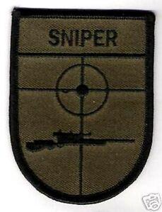 Highly-Trained Marksman Fbi Hrt Écraser Sniper Attenué Od Fbi Vêlkrö  Patch