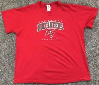 Tampa Bay Buccaneers Football T-Shirt Men's XL Red NFL