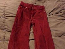 Corduroy Pants youth size 10 adjustable waist