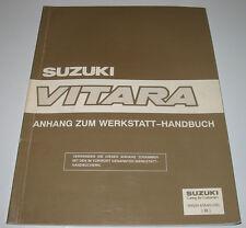 Werkstatthandbuch Anhang Suzuki Vitara Automatik Getriebe Motor Bremsen Airbag!