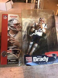 Mcfarlane Sportspicks 2002 NFL Tom Brady Figure Series 5 Rookie Action Figure