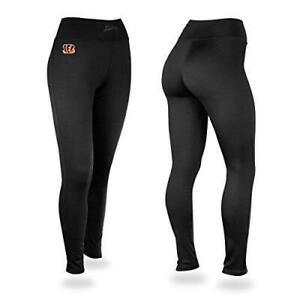 Zubaz Cincinnati Bengals Womens Size Medium Yoga Pants Leggings C1 1179
