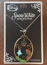 Disney Snow White & The Seven Dwarfs Story Frame Pendant Necklace