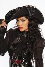 PIRATEN HUT Vintage Burlesque Gothic Piratin passend zum Kostüm Kleid Damen