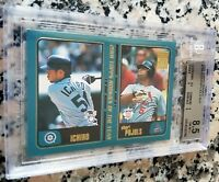 ALBERT PUJOLS ICHIRO 2001 Topps Traded Rookie Card RC BGS 8.5 9 9.5 HOF $ HOT $