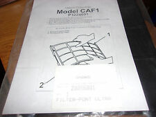 CHARCOAL CARBON FILTER MODEL CAF1, P1224601, AMANA #20056001 AIR CONDITIONER