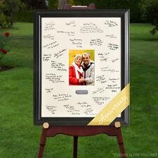 Personalized Wedding Anniversary Party Celebration Signature Frame Keepsake Gift