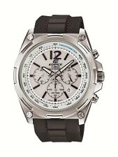 Casio Edifice Men's Solar Chrono Silver-Tone Bracelet 44mm Watch EFR 545SB-7BV