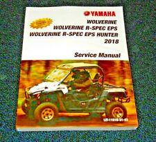 YAMAHA WOLVERINE 700 OEM SERVICE REPAIR SHOP MECHANICS MANUAL, TECHNICAL BOOK