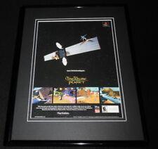 Treasure Planet 1998 Playstation Framed 11x14 ORIGINAL Advertisement