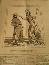 Caricature 1878 - J'avais commandé 300000 paires de soulier des pantoufles