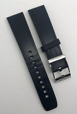 Authentic Breitling 20mm x 18mm Diver Pro Black Rubber Strap Buckle 132S OEM