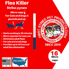 Flea Killer for cats and small dogs 16 doses, low price, fast acting