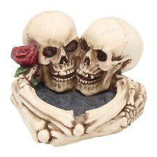 Aschenbecher Schädel Horror Skull Gothic Halloween Totenschädel Dekoration NN96