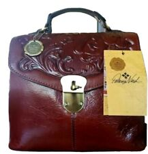 New ListingPatricia Nash Sinclair Tooled Leather Convertible Backpack -Nwt-Orig.$229.00