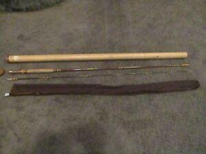 Vintage Browning Silaflex 8' Model # 322980 6 or 7 wt line Fly Rod & Tube & Sock