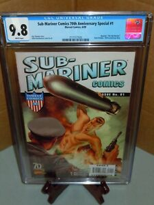 Sub-Mariner Comics 1 CGC 9.8 Marvel Comics 2009 Timely 70th Anniversary Special
