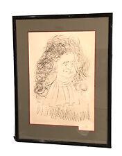 "Vintage Salvador Dali (Spanish, 1904-1989) etching "" la Fontaine"" Pencil Signed"
