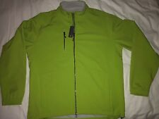 NWT $185 Peter Millar Neon Green Zip-front Jacket - Size XL