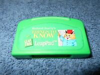 LEAPFROG LEAPPAD - RICHARD SCARRY'S THINGS TO KNOW - GAME CARTRIDGE ONLY - NICE