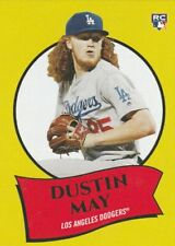 2020 Topps Montgomery Set 3 1969 Poster #10 Dustin May Dodgers