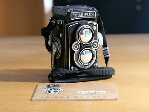 Rolleiflex III mit CARL ZEISS Tessar 1:3,5/75 vom Leica Store Nürnberg